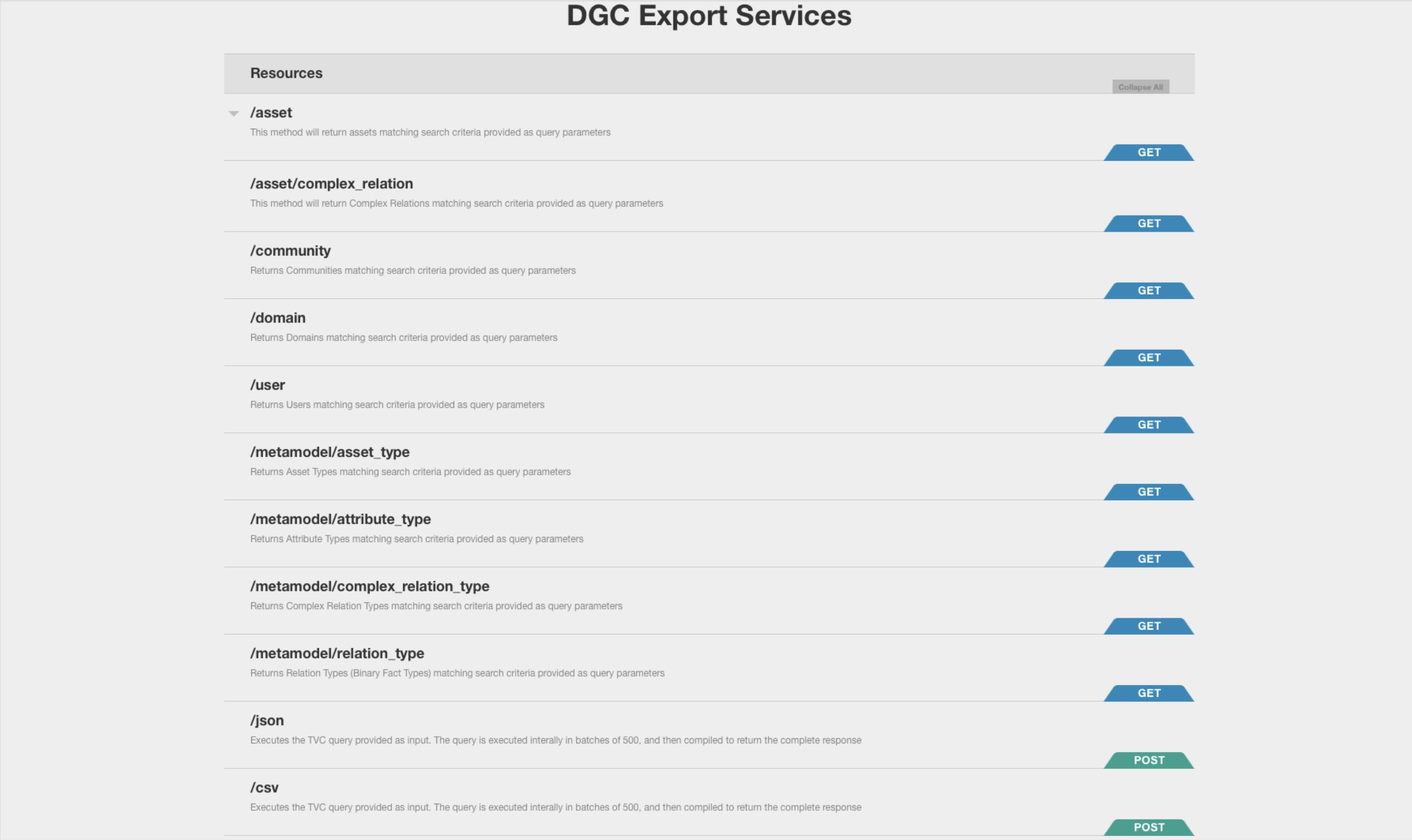 DGC Query Tool - Collibra Marketplace