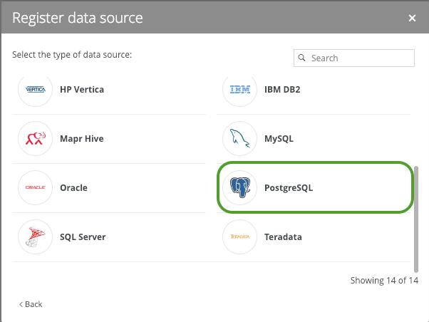 PostgreSQL Metadata to Catalog - Collibra Marketplace