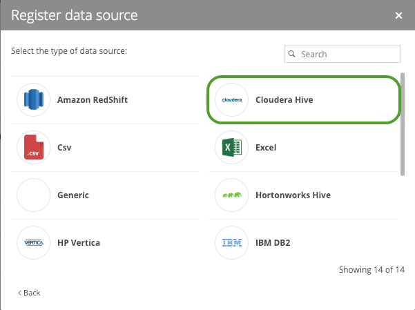 Cloudera Hive Metadata to Catalog - Collibra Marketplace
