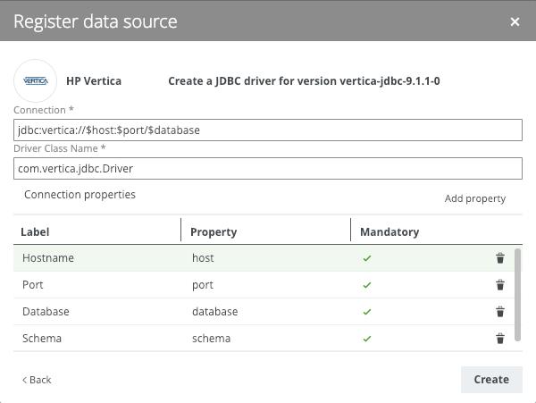 HP Vertica Metadata to Catalog - Collibra Marketplace