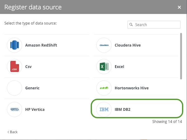 IBM DB2 Metadata to Catalog - Collibra Marketplace