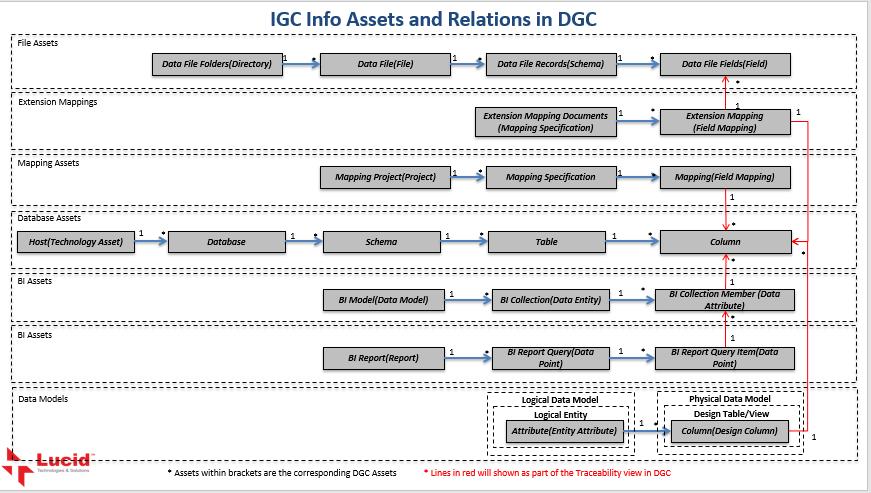 IBM InfoSphere Information Governance Catalog (IGC) information